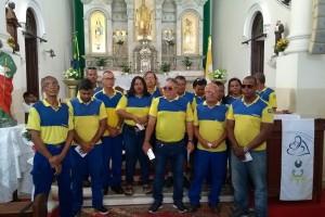 Missa em homenagem aos carteiros