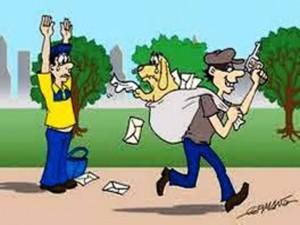 Dispara o número de assaltos a carteiros e atendente comercial na capital e no interior