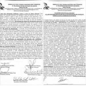 ELEIÇÕES SINCOTELBA 2020/2024
