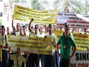 Correios anuncia concurso mas não contrata concursados de 2011