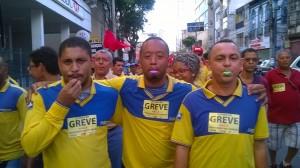 Diferentes atos marcaram a greve na Bahia