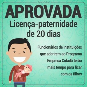 FENTECT questiona ECT sobre direito à licença-paternidade aprovada em lei