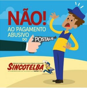 O SINCOTELBA é contra o pagamento da contribuição extra do Postalis