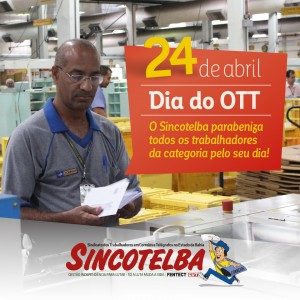 Parabéns OTTs