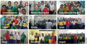 MOBILIZAÇÃO: Dois novos roteiros de setoriais e visitas às bases do interior da Bahia discutem estratégias da campanha salarial e privatização