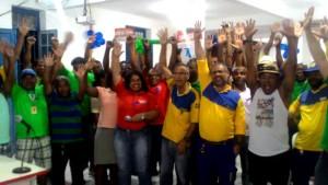 Os trabalhadores da Bahia decidem em assembleia greve de 24h, a partir das 00h do dia 11.11
