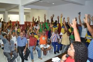 Grande assembleia geral extraordinária em defesa dos trabalhadores dos Correios