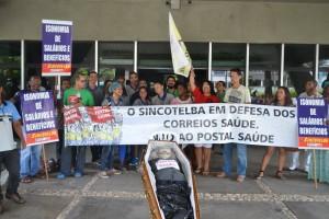 ECT comete mais uma arbitrariedade contra os trabalhadores contra a Postal Saúde.