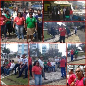 Atos marcam o segundo dia de greve na Bahia