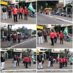 3° dia de greve - Contra retirada de vigilantes das unidades
