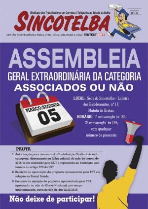 ASSEMBLEIA GERAL EXTRAORDINÁRIA para associados e não associados