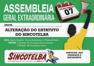 Assembleia de melhoria do estatuto do Sincotelba