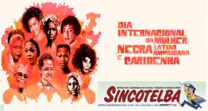 25 de julho dia da Mulher Negra Latina e Caribenha