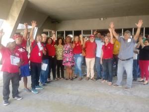 Ato unificado em defesa dos Correios tem proposta favorável do MPT de não fechamento da AC Pituba