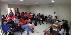 Vice presidente do Sincotelba e dirigentes sindicais de Correios debateram futuro da categoria e da ECT