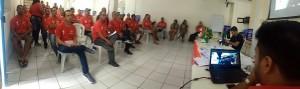 O 10º Encontro de Estadual de Delegados do Sincotelba já começou