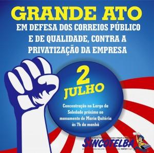 02 de julho: Dia de resistência e Luta