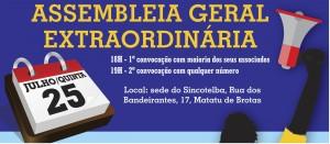 Sincotelba  orienta os trabalhadores a se mobilizarem contra pacote de maldade da ECT