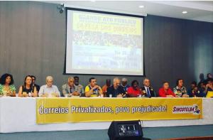 ATO PÚBLICO – Sincotelba vai à Assembleia Legislativa da Bahia lutar contra a privatização dos Correios