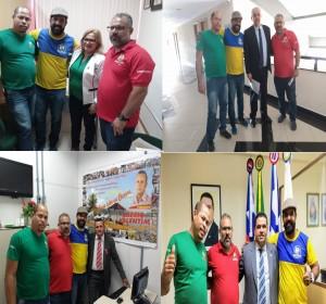 Não a privatização – Parlamentares recebem a comissão contra a privatização dos Correios do Sincotelba e entram na luta