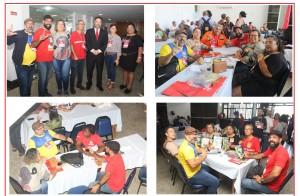 Sincotelba participa do 15º encontro promovido pela CUT