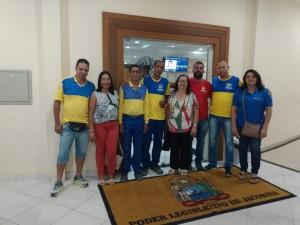 Diretores do Sincotelba participam de Audiência Pública no município de Jacobina