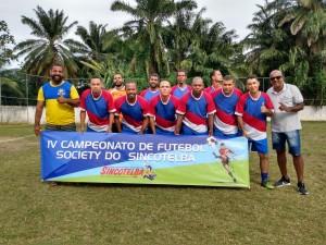 CDD Plataforma aplicou goleada de 10X1 na primeira rodada do futebol Society do Sincotelba